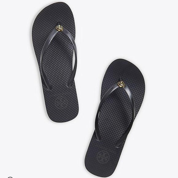 1ffd63b989d86 Tory Burch Shoes - Tory Burch Wedge Flip Flops Size 8